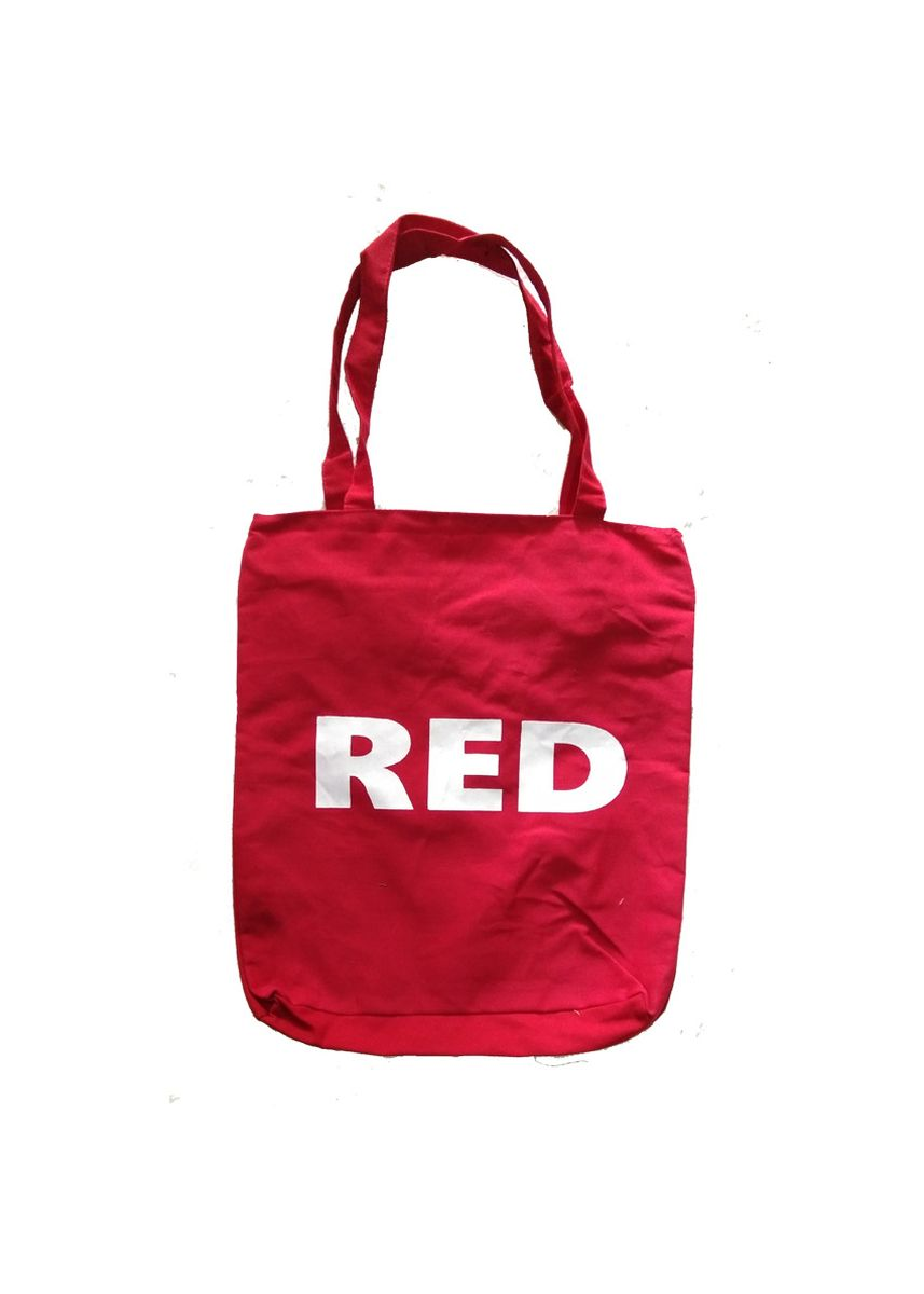 Merah color Tas Messenger . Meyliem Jaya Tote Bag Kanvas Warna - Merah -