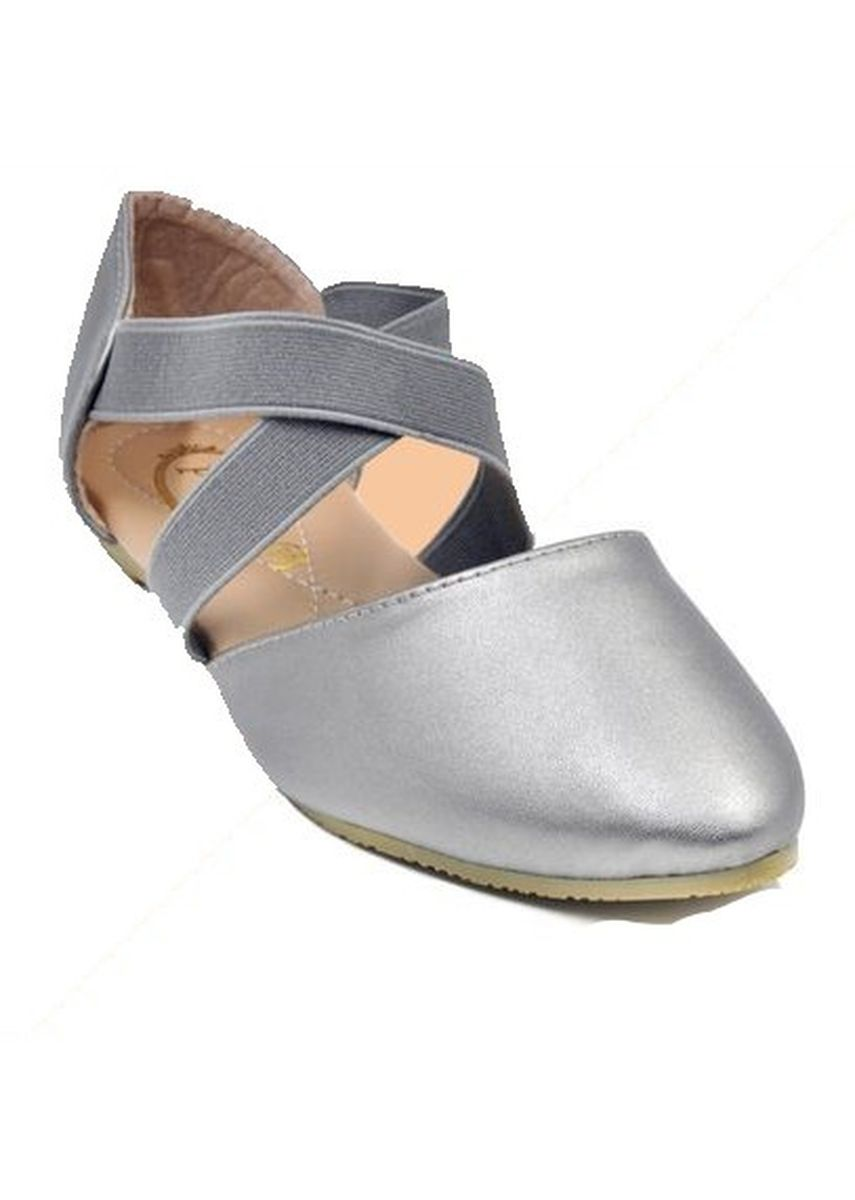 Grey color Sandals and Slippers . Khoee Women's Lace Up Ballet Flat Sandals -
