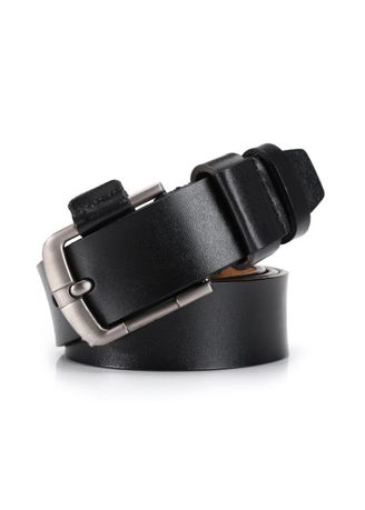 Belts . Men's Leather Fashion Pin Buckle Casual Retro Belt -
