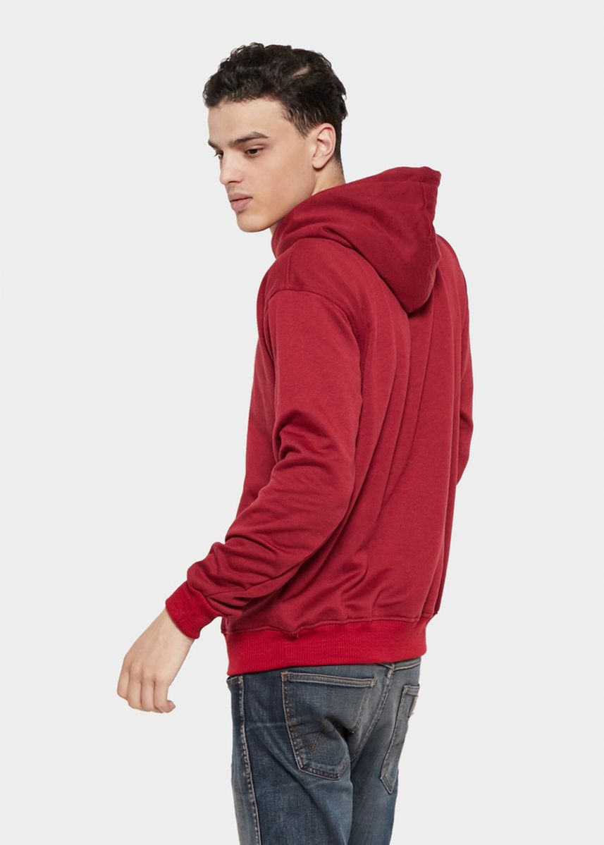 Red color Sweaters . HOODIE Basic Sweater Hoodie Polos -