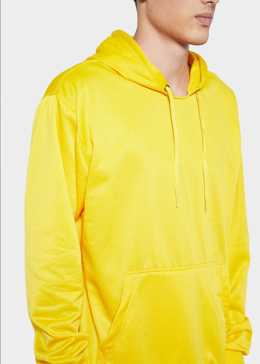 Yellow color Sweaters . HOODIE Basic Sweater Hoodie Polos -