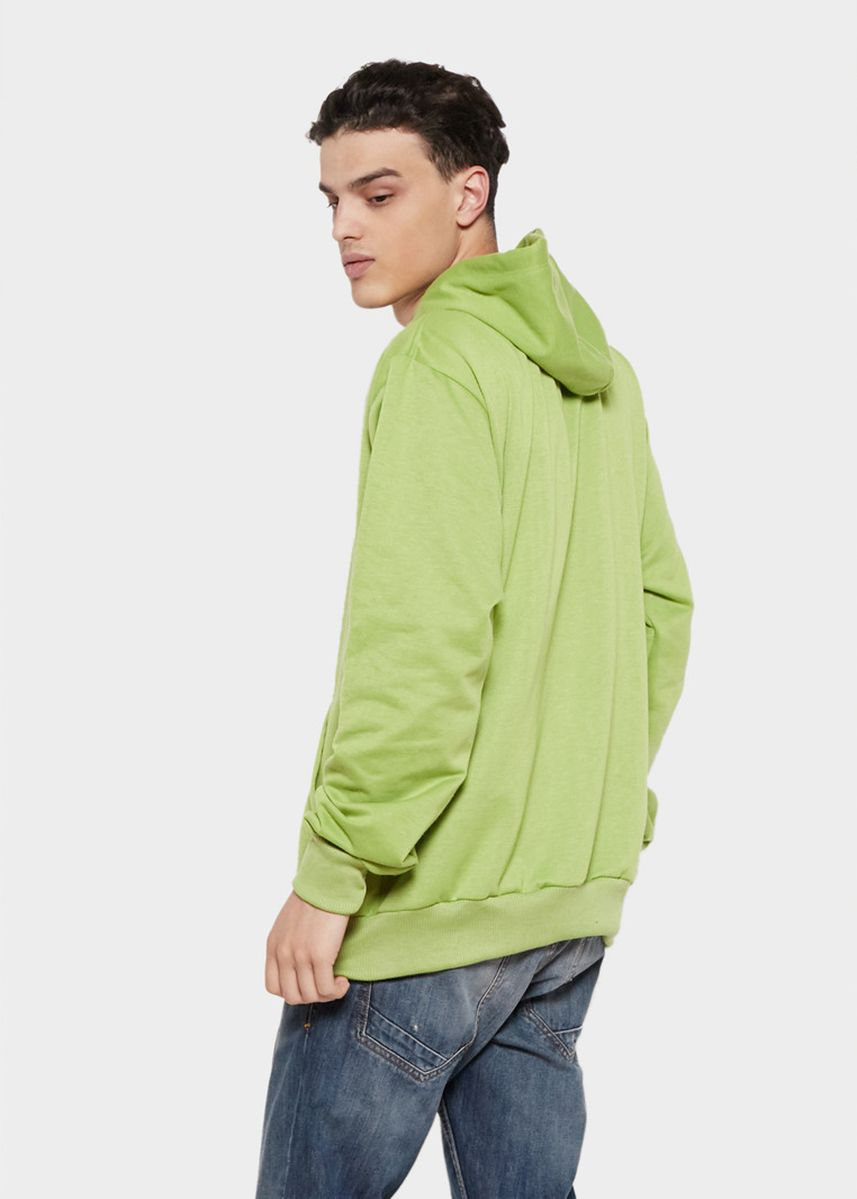 Green color Sweaters . HOODIE Basic Sweater Hoodie Polos -