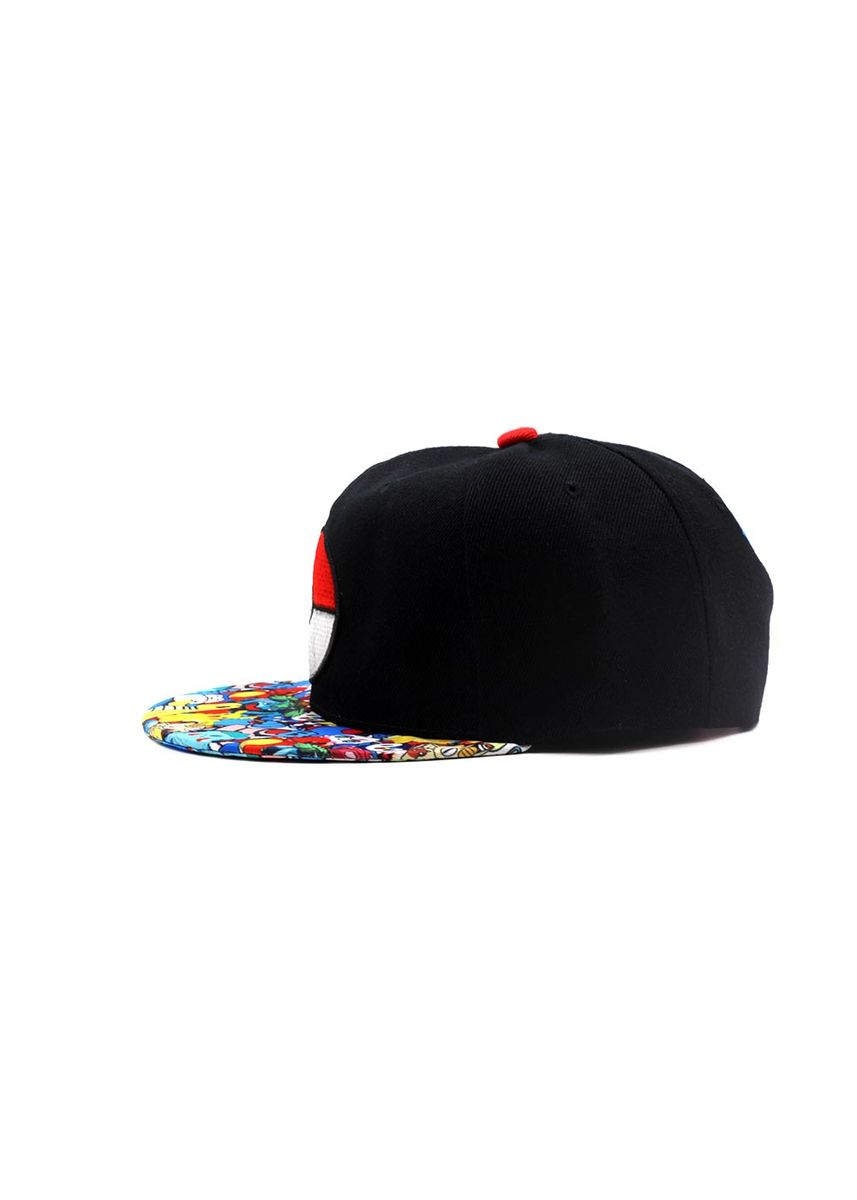Black color  . Digisoria Nime Snapback Baseball Cap -