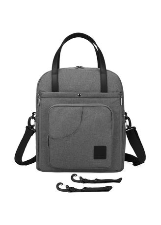 Grey color Bags . Mommore Stylish Diaper Bag Backpack -