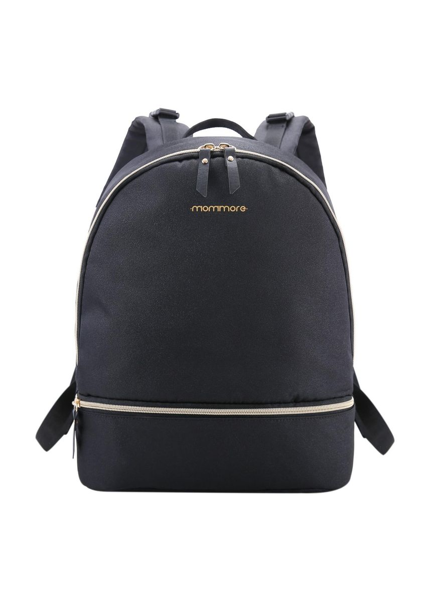 Black color Bags . Mommore Diaper Backpack -