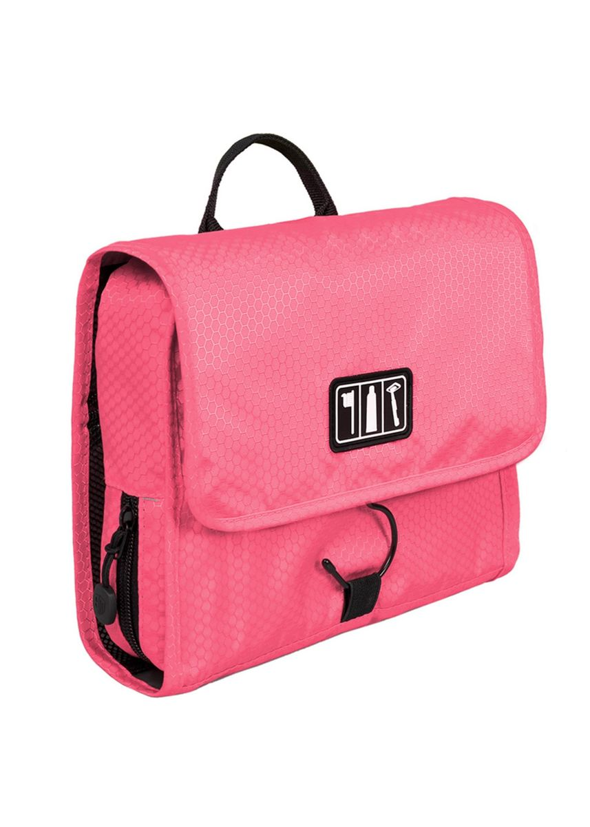 Pink color Travel Wallets & Organizers . Bagsmart Waterproof Toiletry With Hanger -