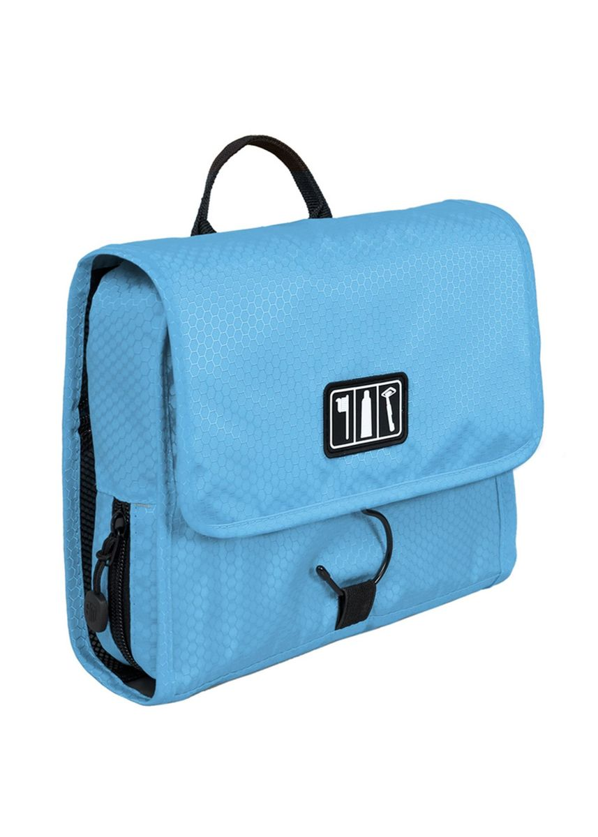 Blue color Travel Wallets & Organizers . Bagsmart Waterproof Toiletry With Hanger -