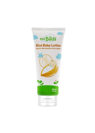 No Color color Body Cream & Oil . Tiny Buds Natural Rice Baby Lotion 150ml -