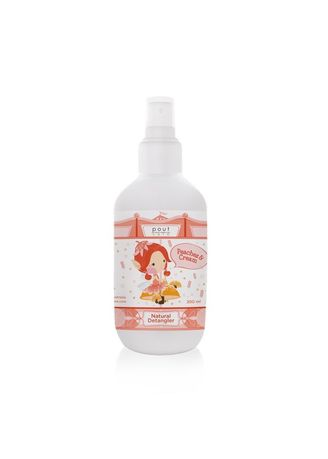 No Color color Hair Wash . Pout Care Peaches and Cream Natural Detangler 200ml -
