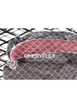 Maroon color Cotton . CHERYFLEX -