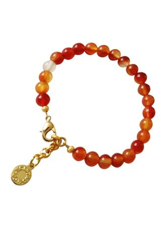 Orange color  . Carnelian Healing Bracelet -