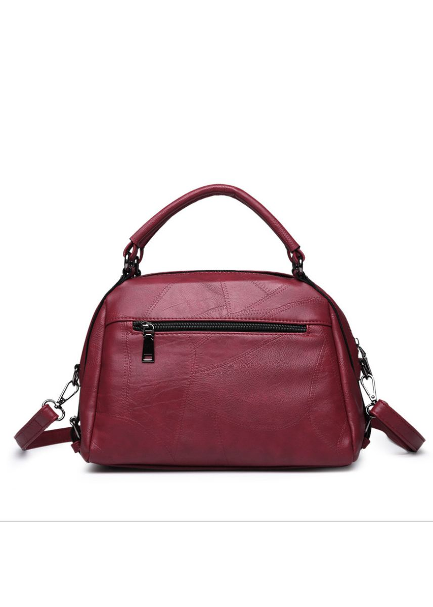 Red color Hand Bags . New Stitching Ladies Handbag -