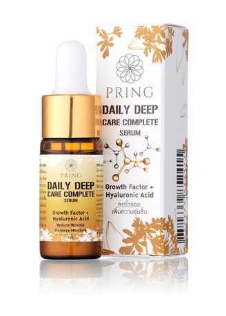 No Color color Serum & Treatment . PRING Daily Deep Care Complete Serum ขนาด10ML -