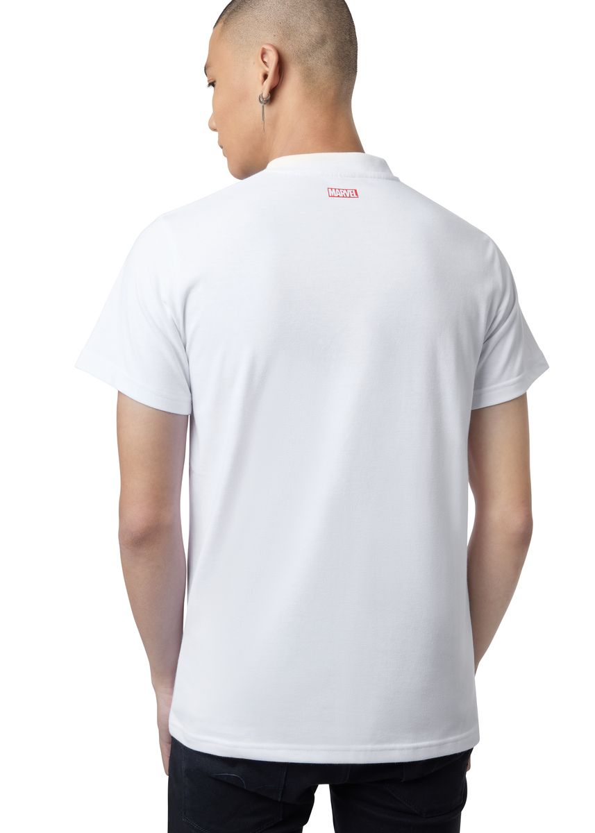 White color T-Shirts and Polos . Official Suit Up T-Shirt -