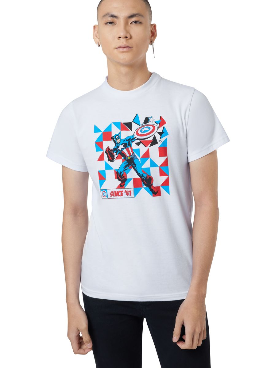 White color T-Shirts and Polos . Official Since '41 T-Shirt -