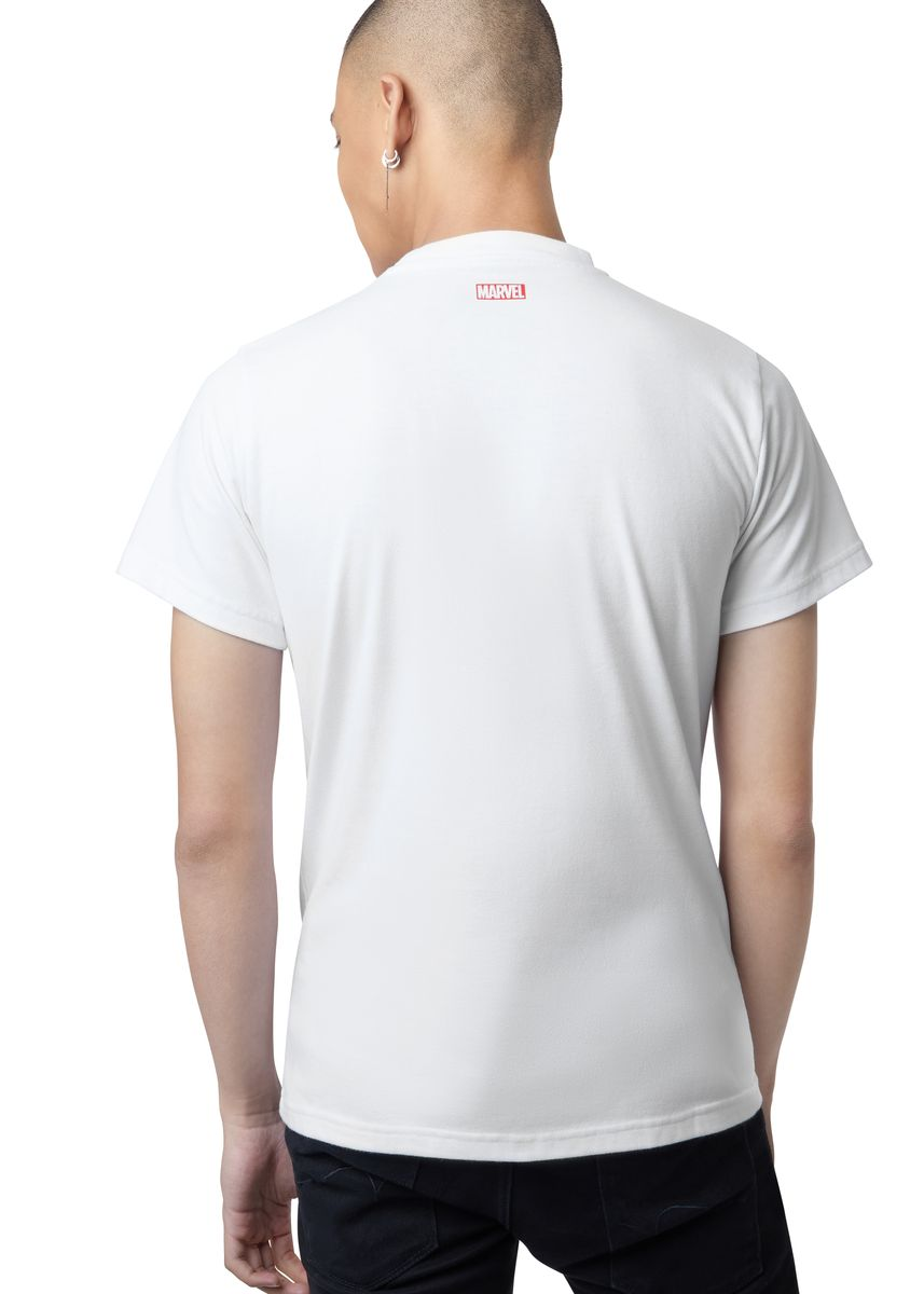 White color T-Shirts and Polos . Official A Man Transformed T-Shirt -