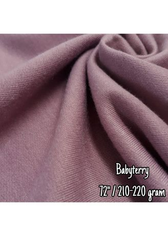 Multi color Polyester . Baby Terry -