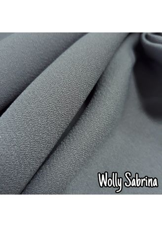 Multi color Polyester . Wolly Sabrina -