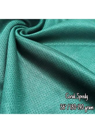 Multi color Polyester . Corak Speedy -