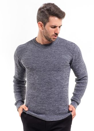 Grey color Sweaters . MANLY Sweater Hamme Grey -