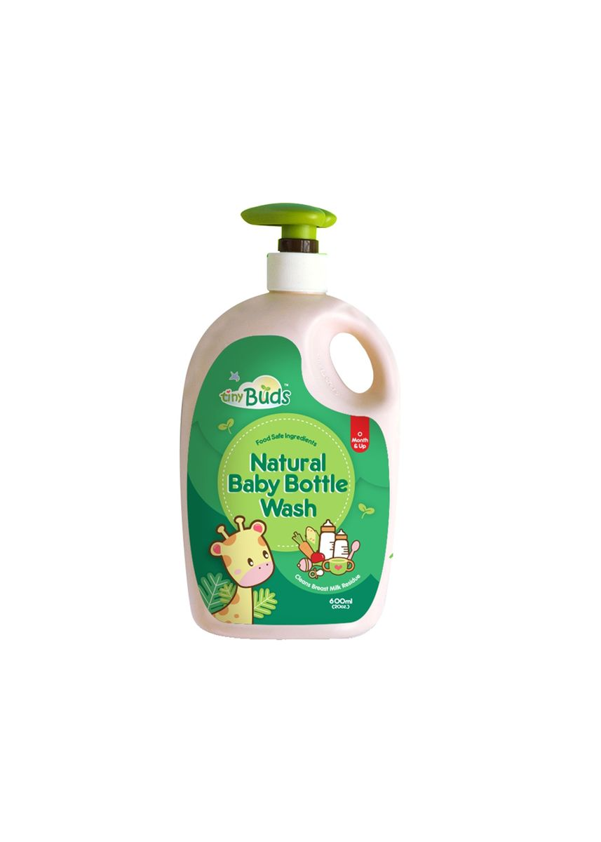 Green color Others . Tiny Buds Natural Baby Bottle Wash 600ml -