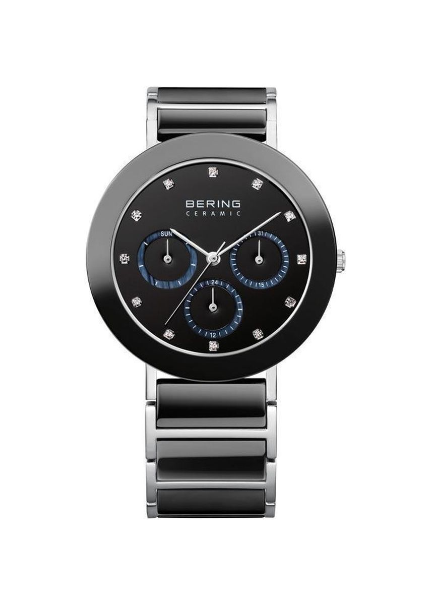 Grey color Chronographs . Bering Ceramic Grey 38 mm Women's Watch -