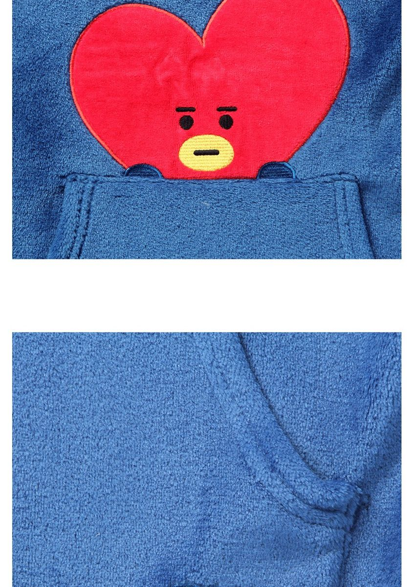 Navy color Pyjamas . BT21 x HUNT Sleepwear Pajama Set Tata Unisex HIPP84T01T -