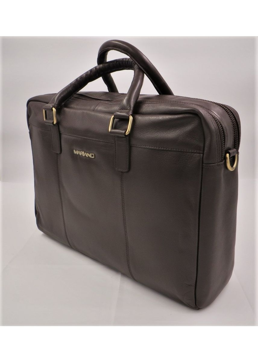 Brown color Messenger Bags . Mariano Men's Genuine Leather Bag -