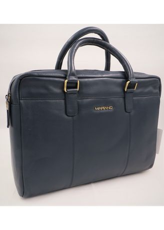 Navy color Messenger Bags . Mariano Men's Genuine Leather Bag -