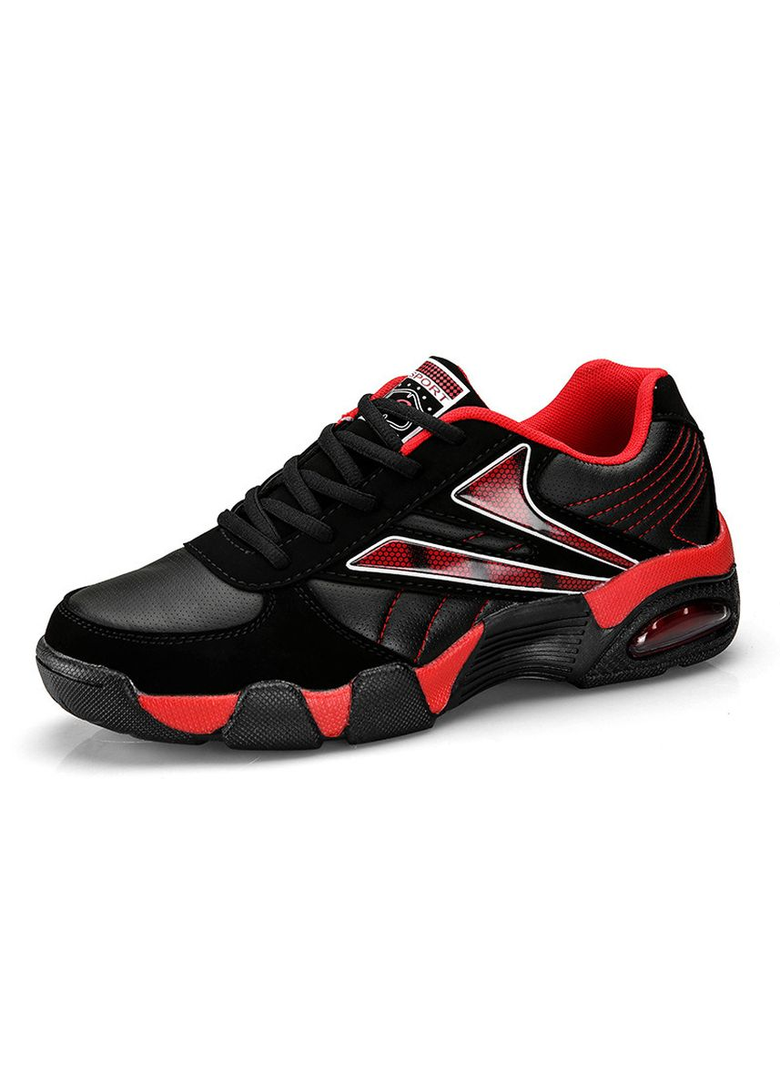 Red color Sports Shoes . Mesh Breathable Mesh Sports Running Shoes -