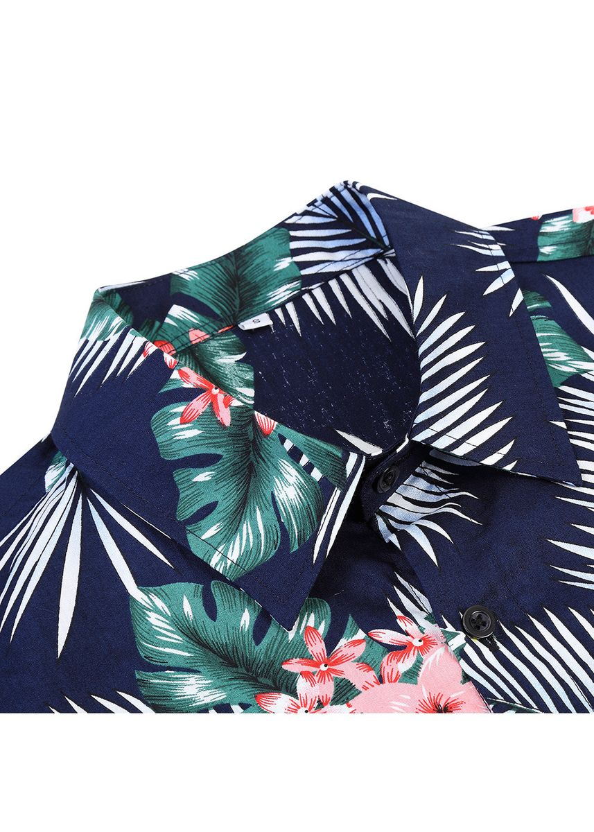 Multi color Casual Shirts . Men Short Sleeve Floral  Casual Shirts -