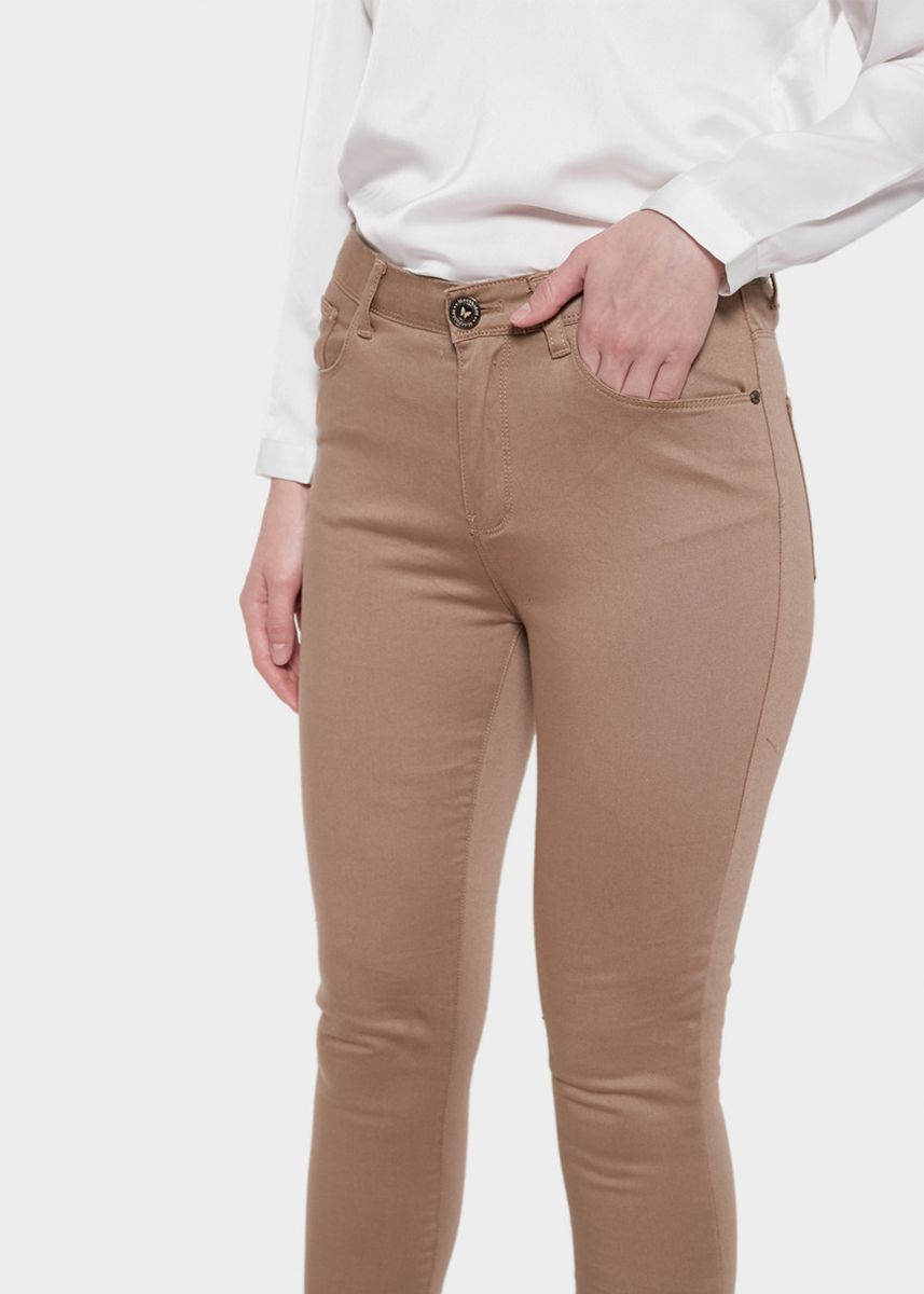 Brown color Trousers . Morphidae Brielle Women Pants in Brown -