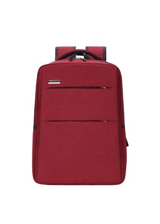 Red color Backpacks . New Simple Business Backpack -