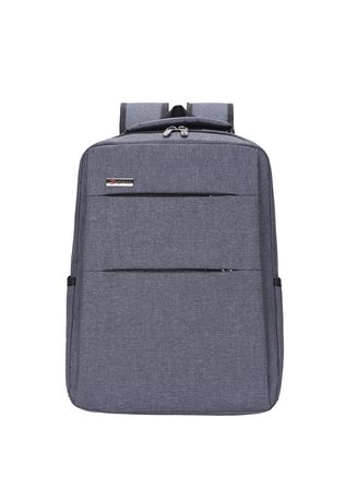 Grey color Backpacks . New Simple Business Backpack -