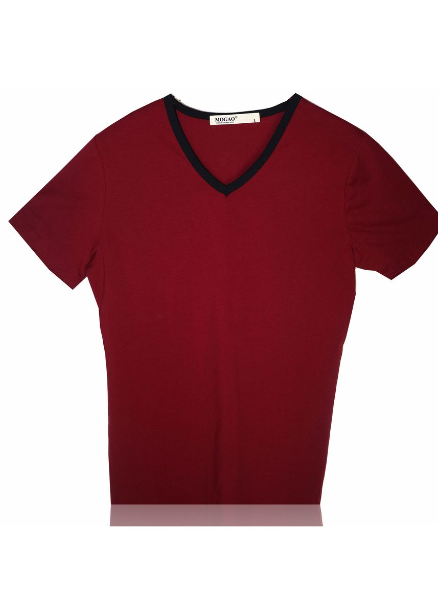 Red color T-Shirts and Polos . Mogao Men's Colored T-shirt -
