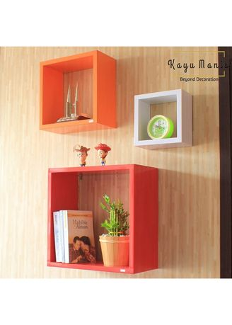 Red color Home Decor . Ambalan square -