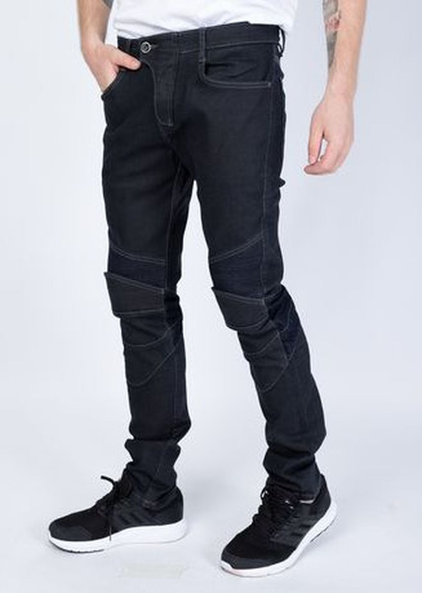 Navy color Jeans . Pam -