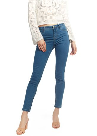 Jeans . OVS Solid Colour Superskinny-Fit Basic Jeans -