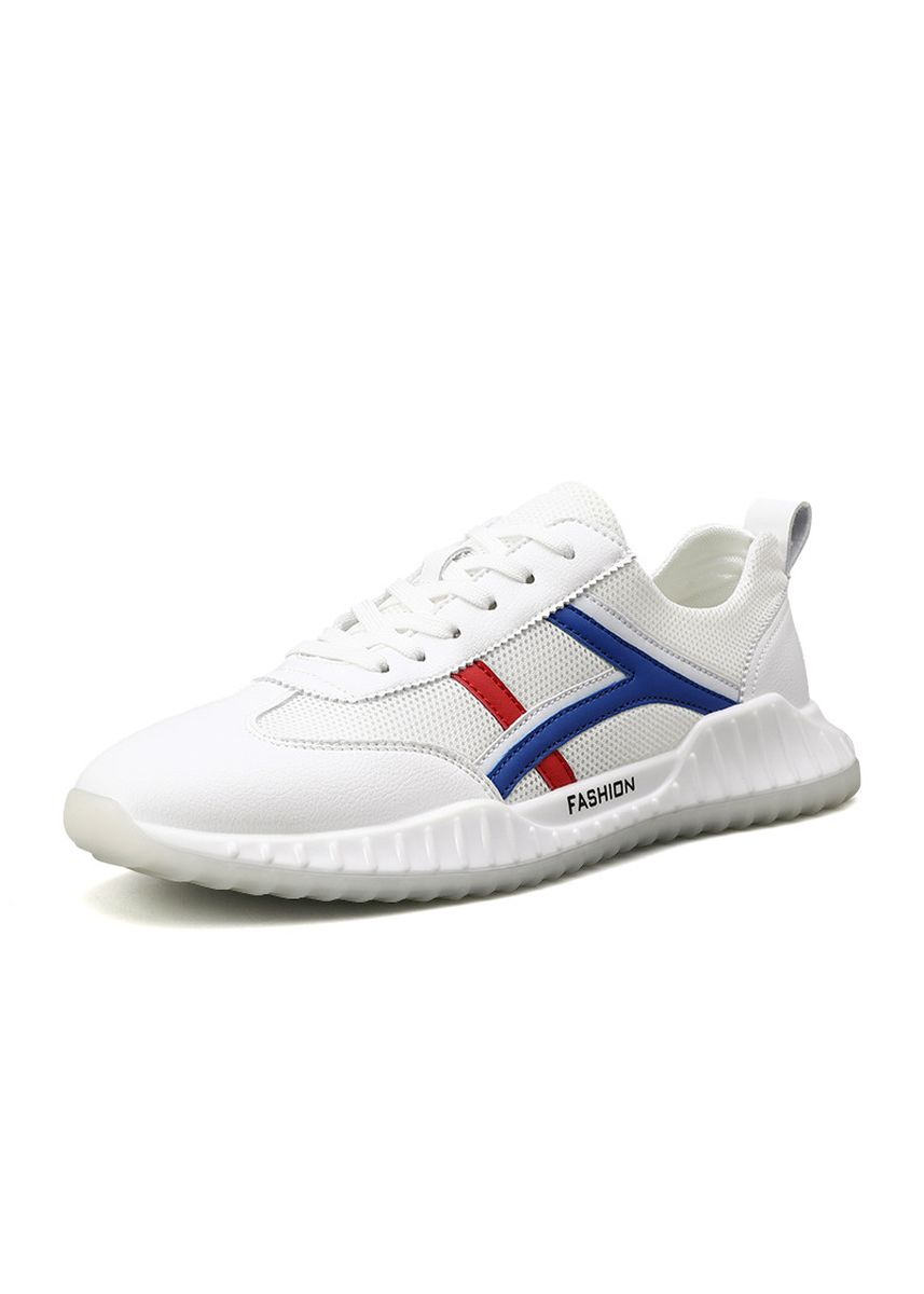 White color Casual Shoes . New Summer Men's Breathable Shoes -