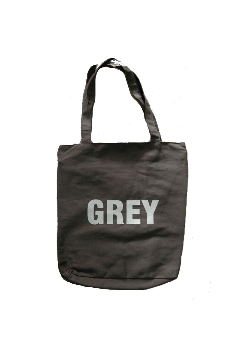 Abu-Abu color Tas Messenger . Meyliem Jaya Tote Bag Kanvas Warna - Grey -