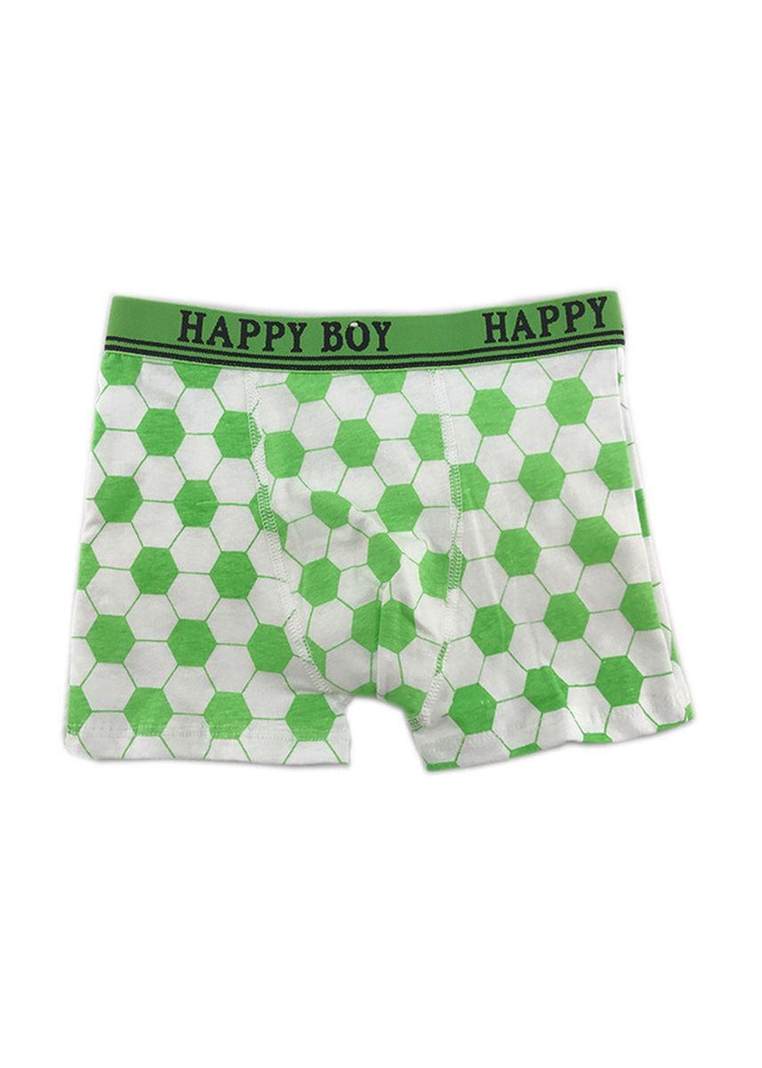 Green color Innerwear . Boy's Boxer Shorts Cotton Stretch Printed Briefs -