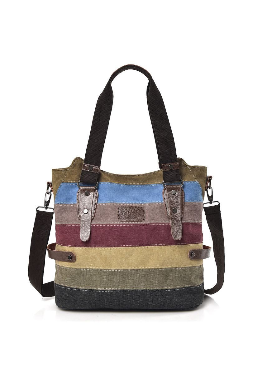 มัลติ color กระเป๋าถือ . Stylish One-shoulder Large-capacity Handbag -