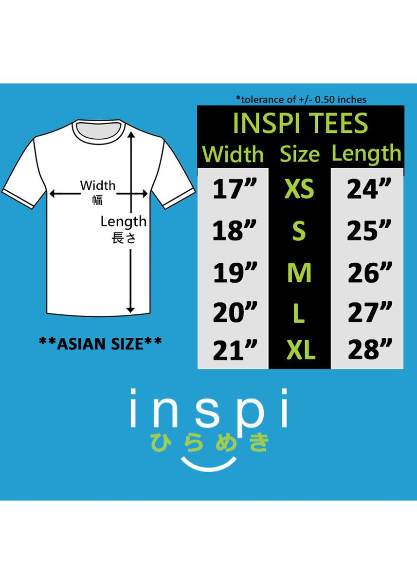 Blue color T-Shirts and Polos . INSPI Men's Printed Tshirt -