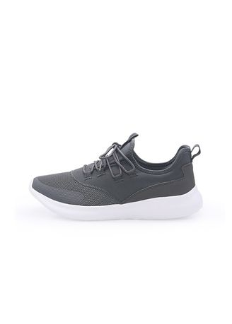 Grey color Sports Shoes . POWER Sneakers Pria DRIFT MYSTYLE 29 - 8282037 -