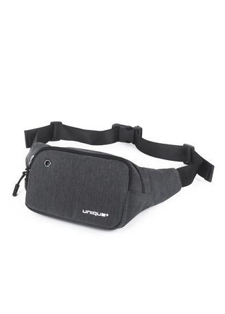 Grey color Messenger Bags . uNiQue CB-WB Tas Pinggang Outdoor Sport Travel Fitness Running Bag -