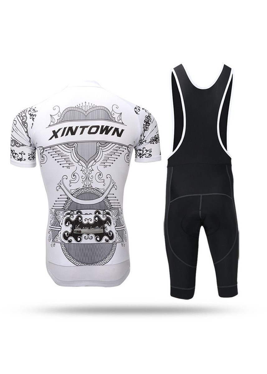 White color Sports Wear . Jersey Short Strap Set Summer Sleeve Male -
