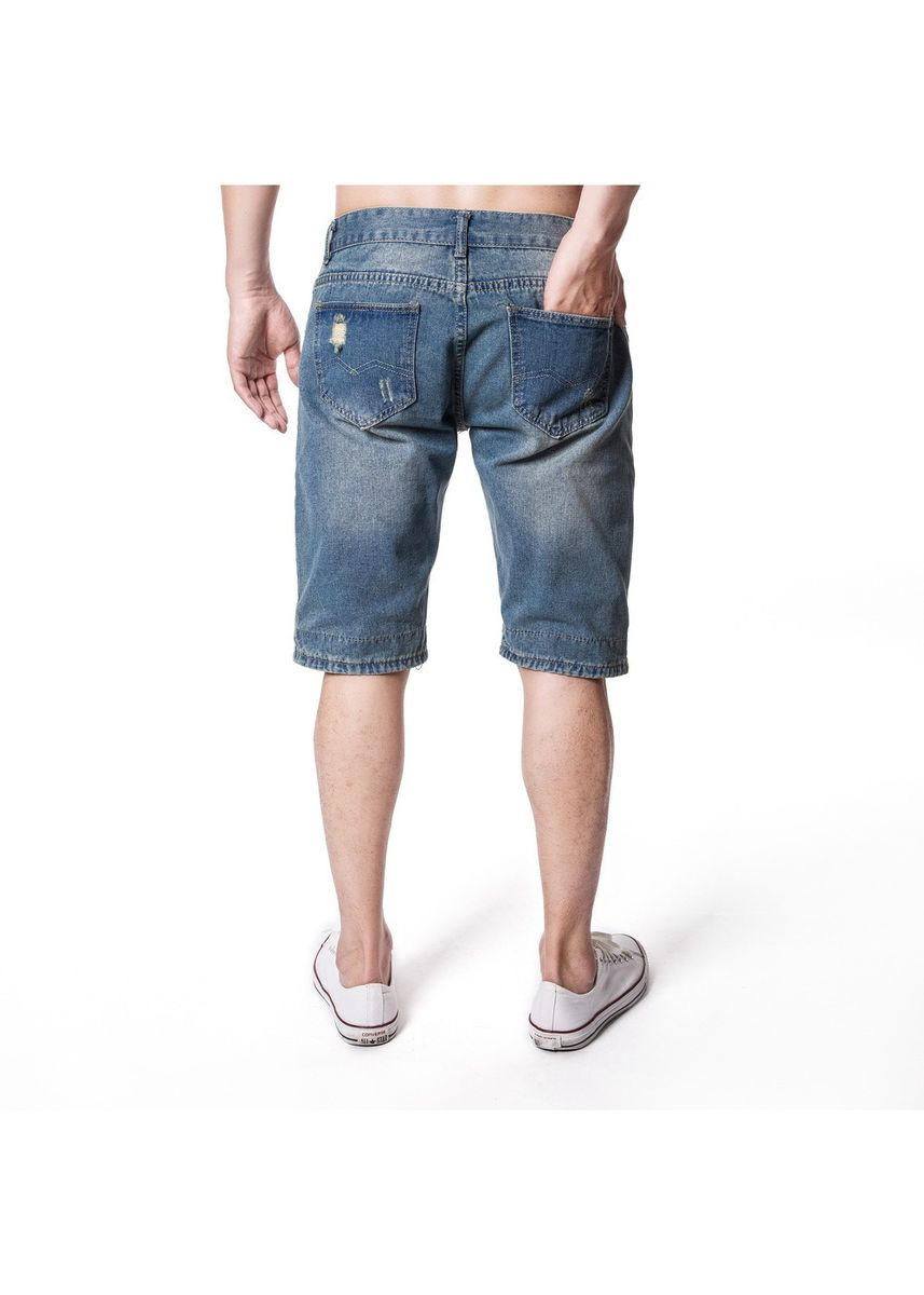 Light Blue color Shorts & 3/4ths . Holes Old Light Blue Trousers -