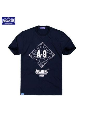 T-Shirts and Polos . เสื้อยืด AQUANINE-OVERCOMING OBSTACLES (NAVY) -