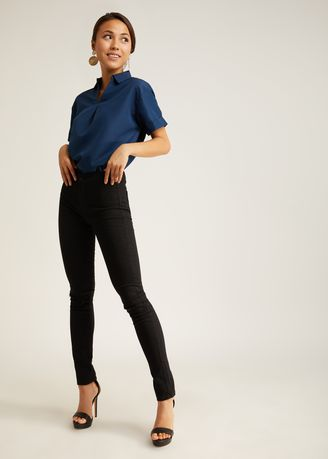 Navy color Tops and Tunics . Revelyn Sleeve Blouse -