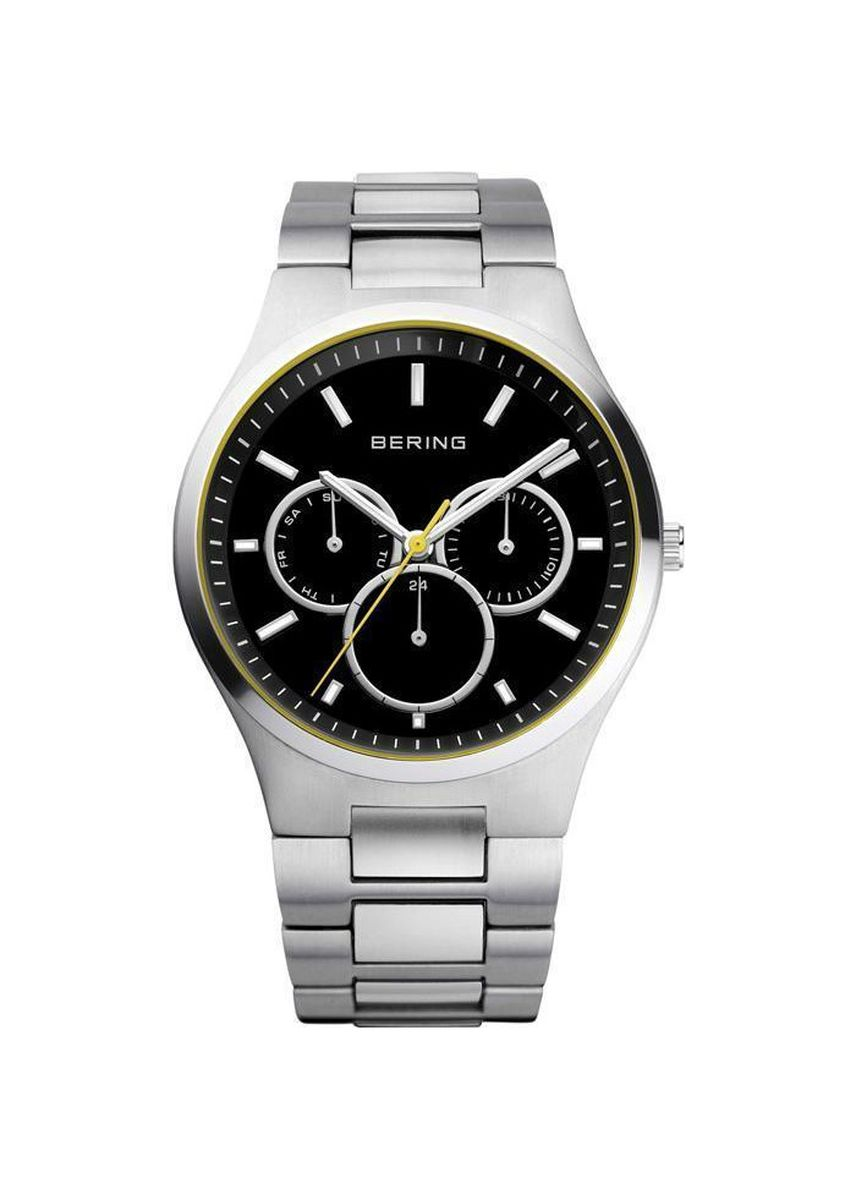 Silver color Chronographs . Bering Classic 13841-702 Black 41 mm Men's Watch -